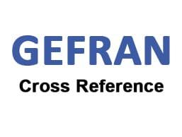 Gefran Cross Reference